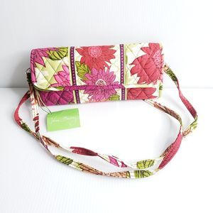 New Vera Bradley Wallet Crossbody Strap Pattern